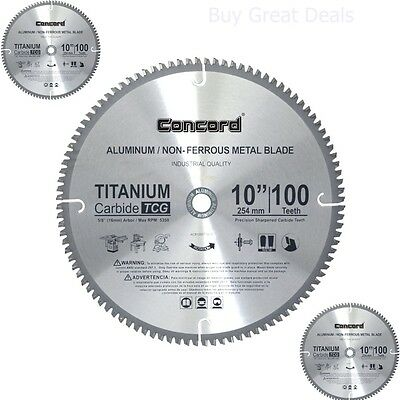 Circular Saw Blades Aluminum Non-ferrous Metal Home Improvement 10
