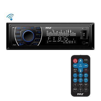 Pyle PLRMR27BTB Bluetooth Marine Receiver Stereo MP3/USB/SD Readers, AM/FM Radio Bluetooth-marine