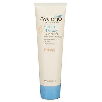 Aveeno Active Naturals Eczema Therapy Hand Cream 2 60 Oz