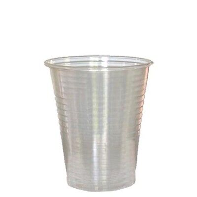 80 pcs DISPOSABLE CLEAR PLASTIC CUPS 9 Oz.-FREE SHIPPING