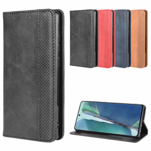 Magnetic Flip Leather Wallet Card Case Stand Cover For