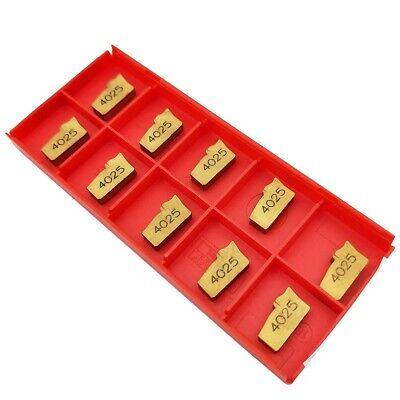 10 pcs SANDVIK carbide cut off inserts N151.2-400-4E Grade 4025