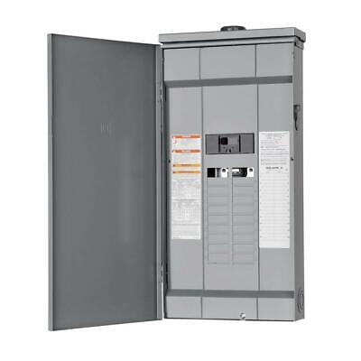 Square D Outdoor Main Breaker Box 200 Amp 20-space 40-circuit Load Center