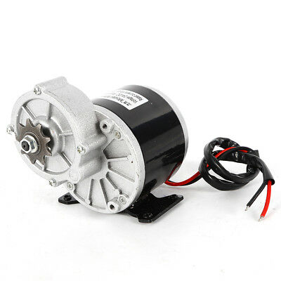 Electric Vehicle Geared Motor 24v350w Pure Copper Wire Decelerate Sprocket