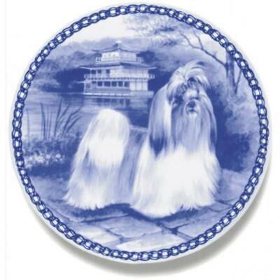 Shih Tzu - Dog Plate made in Denmark from the finest European Porcelain