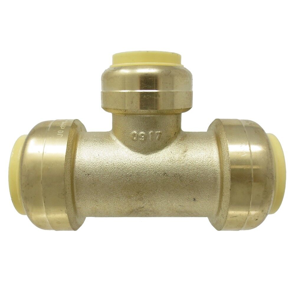 """10 PIECES 3//4/"""" SHARKBITE STYLE PUSH FIT BALL VALVE HOT AND COLD LEAD FREE BRASS"""