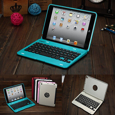 Foldable Wireless Bluetooth Keyboard Case Cover With Stand For iPad Mini 1 2 3 4