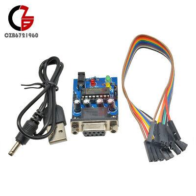 Max232cpe Transfer Chip Atmega16 Rs232 To Ttl Converter Module Com Serial Board