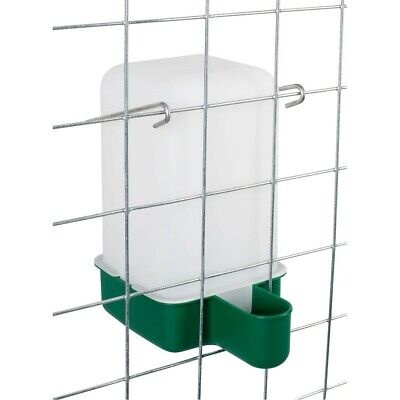 3 x 1 L Cage Drinker - Chicken/Quail/Pigeon/Chick Drinker with bracket