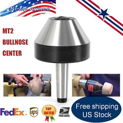 Usa Morse Taper 2 Revolving Live Lathe Center Bull Nose Precision 12-2 12