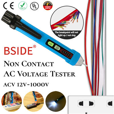 121000v Ac Non-contact Lcd Electric Test Pen Voltage Digital Detector Tester Us