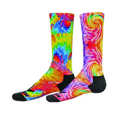 NEW RED LION TIE DYED SUBLIMATED CREW SOCKS