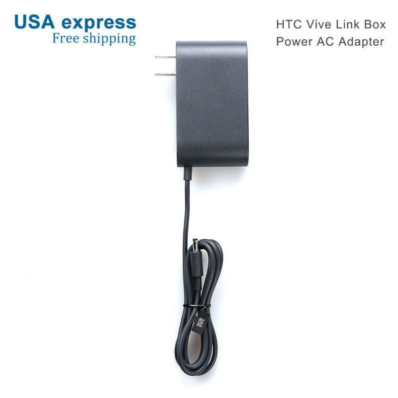 USA Express HTC Vive Link Box VR Streaming Box 100~240V 12V Power AC Adapter