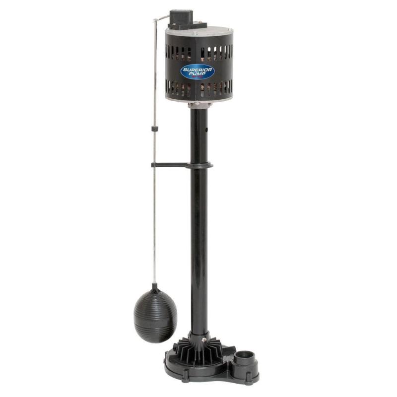 Pedestal Sump Pump Non Submersible Cast Iron Vertical Solid