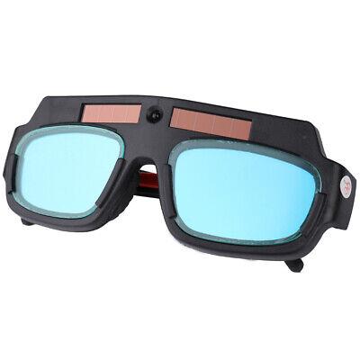 Black Welding Cutting Safety Goggles Glasses Dark Auto Darkening F3s5