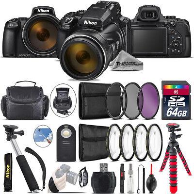 Nikon COOLPIX P1000 Digital Camera +Spider Tripod + Case - 64GB Bundle  Nikon COOLPIX P1000 Coupons, Savings and Deals   1