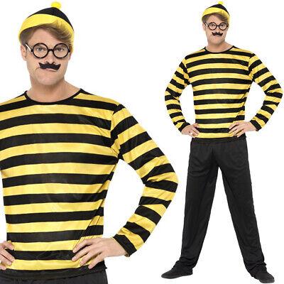 Erwachsene Where S Wally Odlaw Offiziell - Odlaw Kostüme