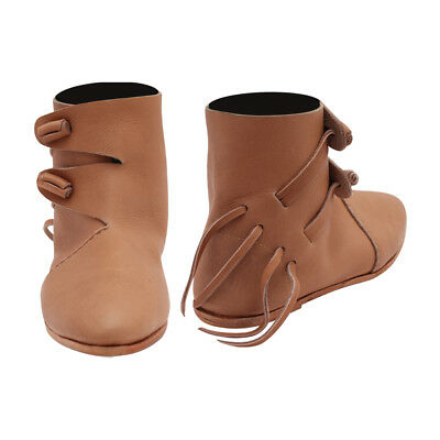 Women's Double Toggle Boots Viking Renaissance  Medieval - Medieval Boots For Women