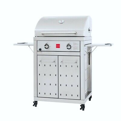 Fuego F27S All 304 Stainless Steel Gas Grill 40,000 BTU/hr Scratch & Finish Flaw All Stainless Steel Grill