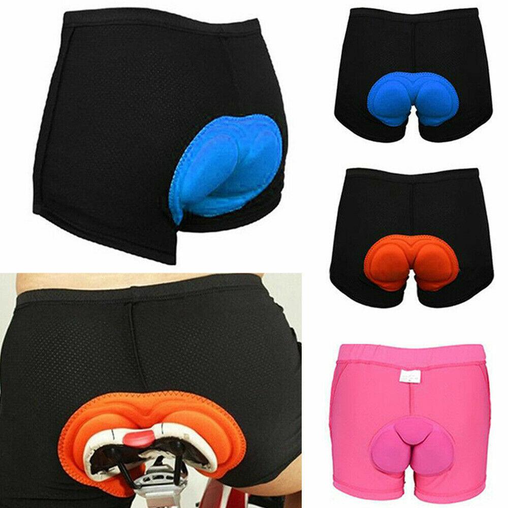 Men's Women Bike Cycling Underwear 3D Padded Bicycle MTB Liner Mountain Shorts Cycling
