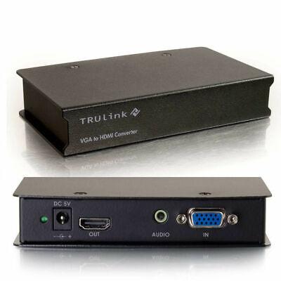 C2G VGA to HDMI Converter - Convertisseur Video - Noir …