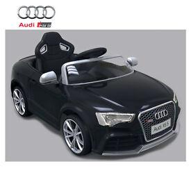 Licensed Audi RS5 12V Ride on Kids Car with Remote Control - Black