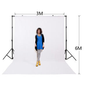 White Screen chroma key 10x20ft 3x6M Background Backdrop for STUDIO shooting