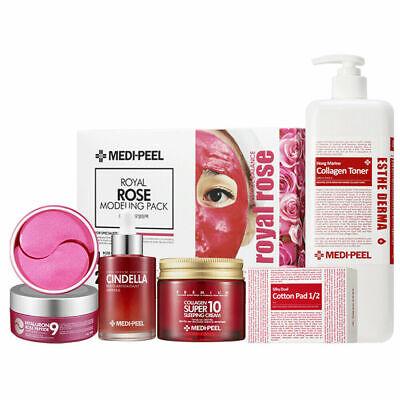 Medi-Peel Red 5 SET Modeling Pack Sleeping Cream Eye Patch Amplue Toner K-beauty