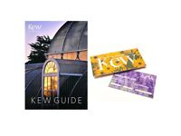 Royal Botanic Gardens Kew Gift Tickets and Kew Guide Book