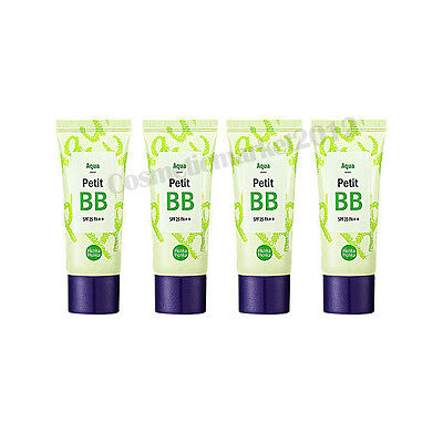Holika Holika Petit BB Cream SPF25 PA++ 30ml #Aqua 4pcs Free gifts