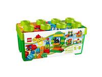 BNIB LEGO DUPLO 65-Piece All-In-One-Box-Of-Fun 10572
