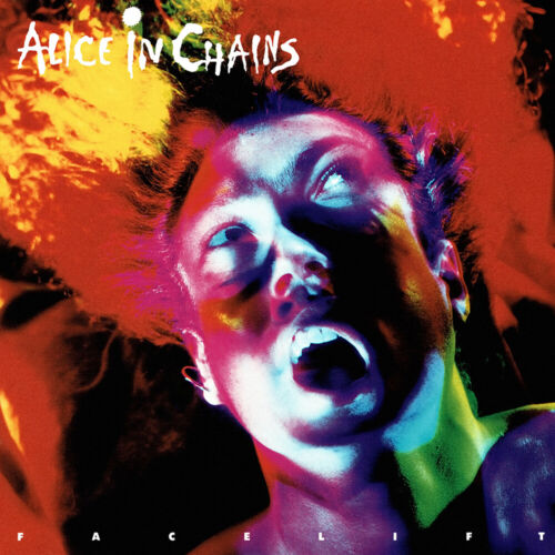 Alice In Chains Facelift 12x12 Album Cover Replica Poster Gloss Print