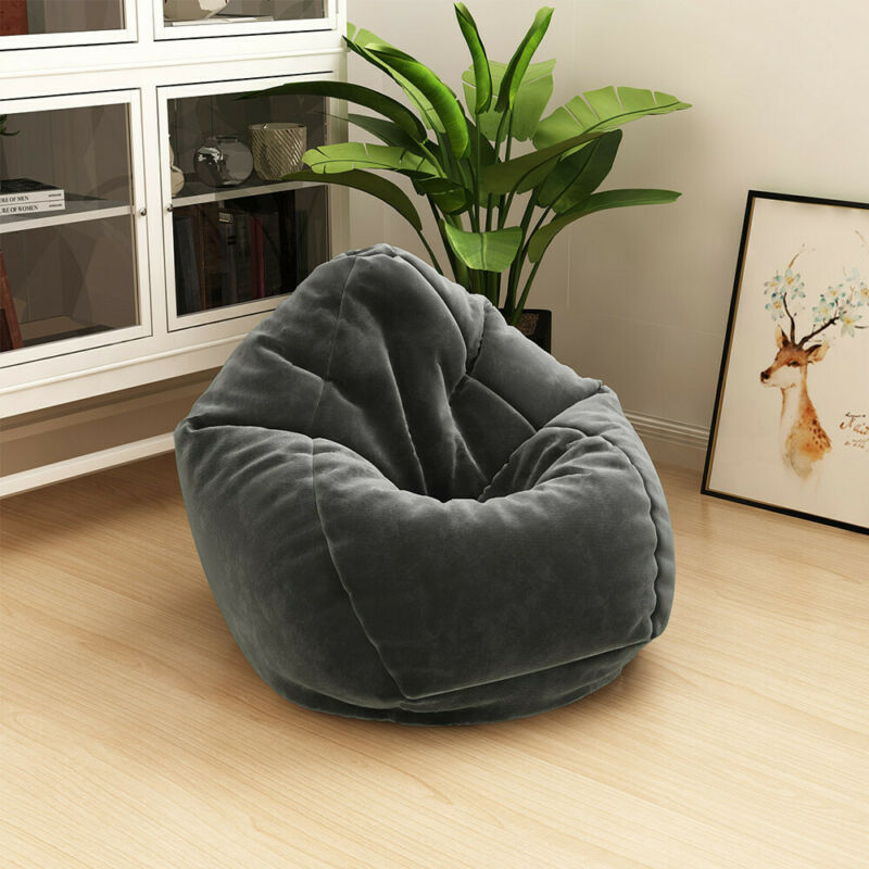 Giant Bean Bag Chair Cozy Foam Filled By Cozy Sack Sofa Soft