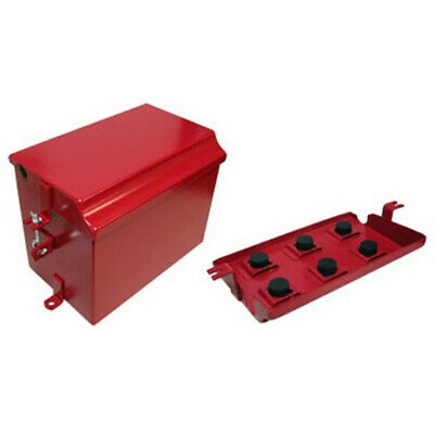 Painted Battery Box Deluxe Fits Farmall Ih International Tractor Super M Md Mv W