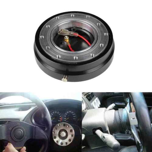 Quick Release,Steering Wheel Quick Release Ball Lock Hub Adapter Snap Off Kit Universal for Car Auto