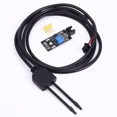 Soil Humidity Hygrometer Moisture Detection Sensor Corrosion Resistance Probe