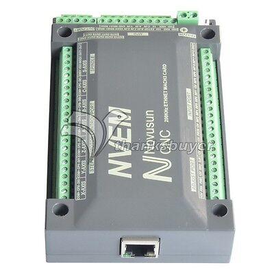 6 Axis 200khz Cnc Ethernet Motor Controller Card Breakout Interface Mach3 Board