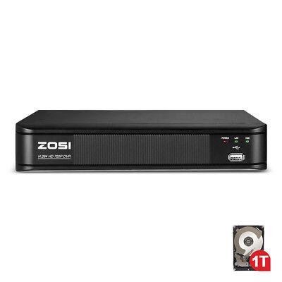 Digital Video Recording System - ZOSI 1TB 8CH DVR 720P CCTV Security surveillance System Digital Video Recorder