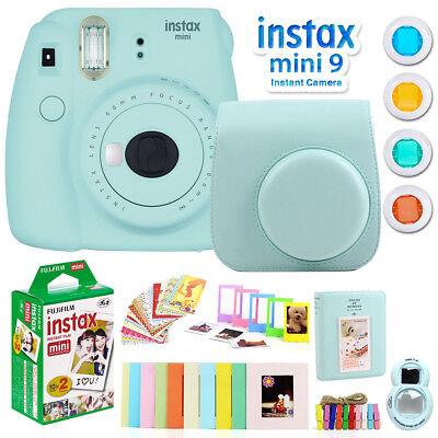 Fujifilm Instax Mini 9 Instant Camera w/ Deco Gear Accessori