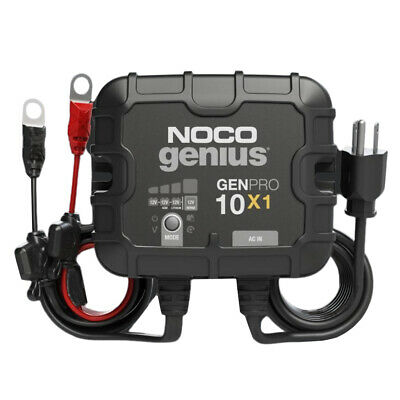 NOCO GENPRO10X1 12V 1-Bank 10-Amp On-Board Battery Charger