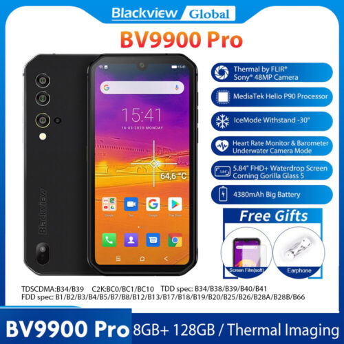 Blackview BV9900 Pro Global Thermal Imaging Smartphone 8GB+1