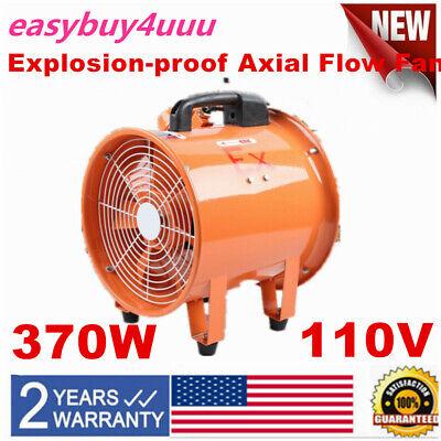 Atex Axial Portable Ventilator Explosion Proof Fan 12370w Extractor Fan Blower