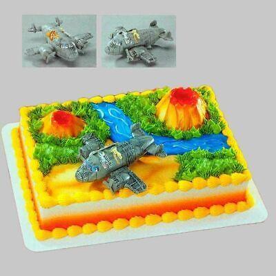 MADAGASCAR ESCAPE 2 AFRICA AIRPLANE CAKE TOPPER DECOPAC DECOSET #11472 NEW - Airplane Cake Topper