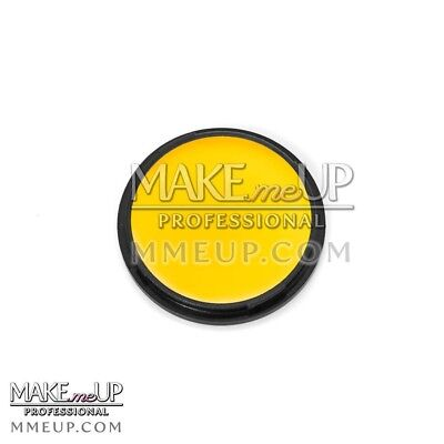 YELLOW Face Body paint Grease oil base FX Makeup Halloween cream clown carnival