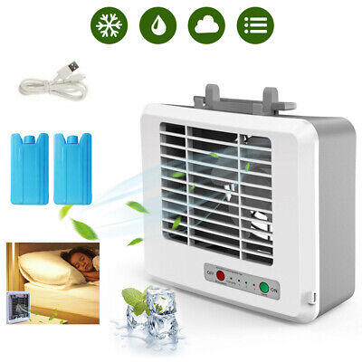 1x Portable Mini Air Conditioner Cool Cooling Artic Air Cooler Fan Humidifier KH ()