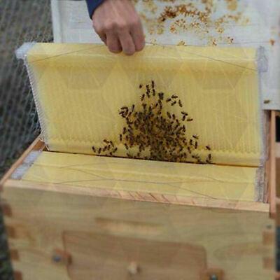 6x Auto Honey Beehive Frames Beekeeping Kits Bee Hive Frame Harvesting Beekeeper
