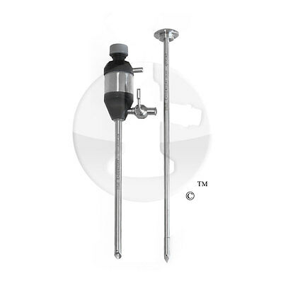 Intuit Endo 5mm X 12cm Cannula Trocar Laparoscopy Instrument Laparoscopic