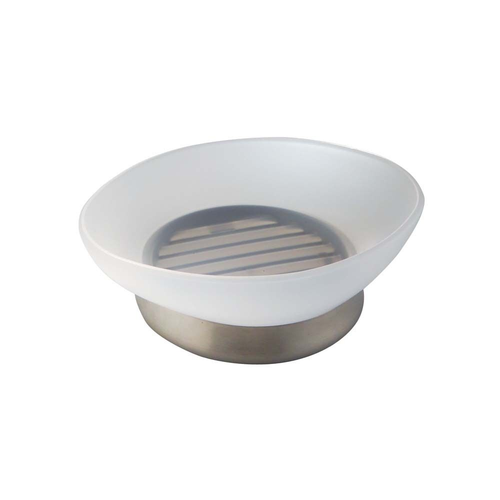 Clear InterDesign 29100 Royal Soap Dish Round