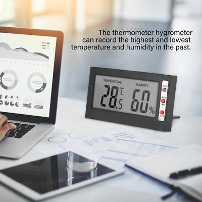 Digital Lcd Thermometer Hygrometer Max Min Memory Celsius Fahrenheit