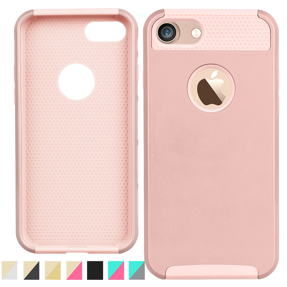 Shockproof PC Hybrid Rugged Rubber Slim Hard Case Cover For iPhone 7 6S 6 Plus